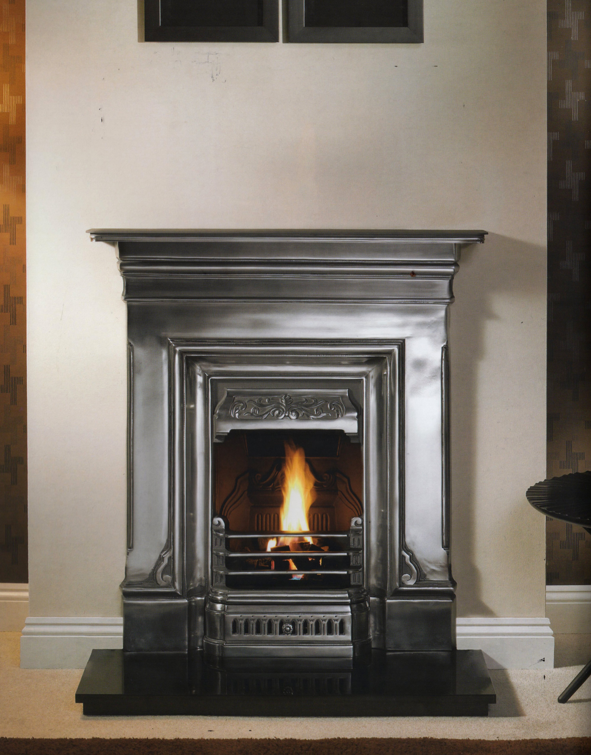 and custom brazilian fireplace black fireplaces a fire made stone hearths in victorian with slate gallery hearth place natural