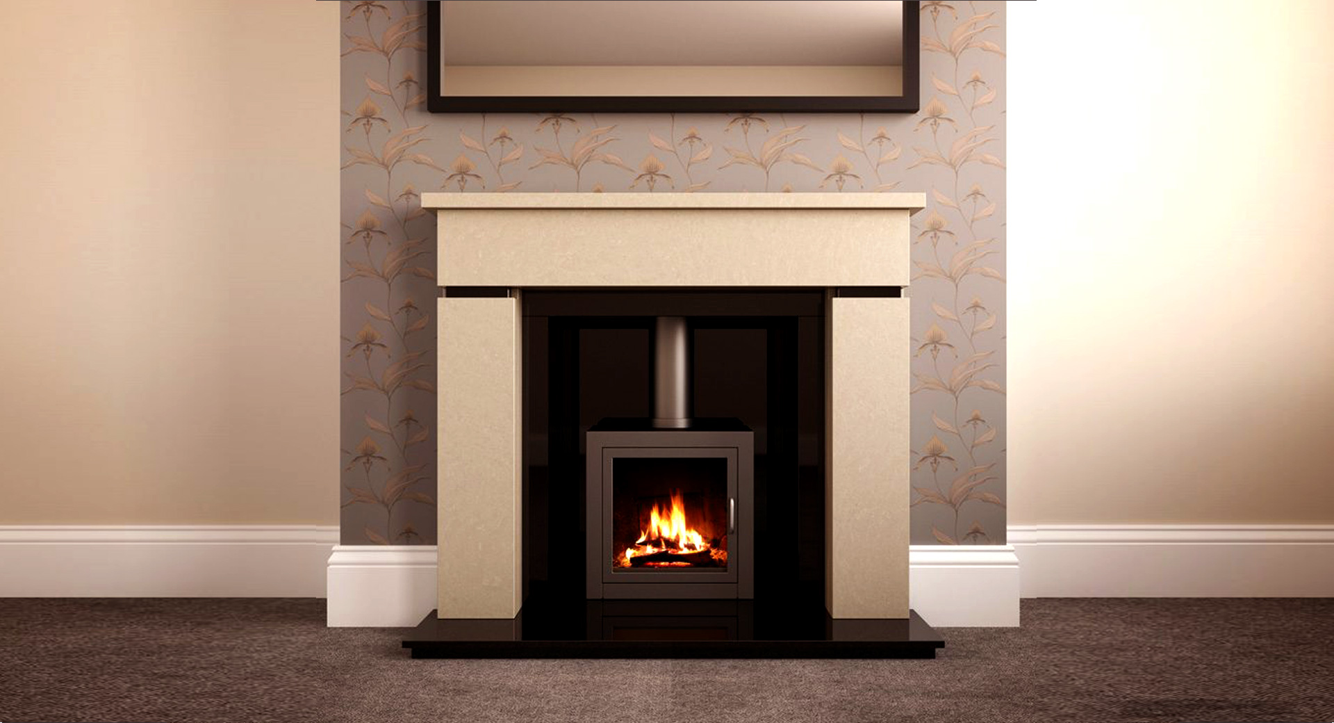 Gas or Solid Fuel Fires